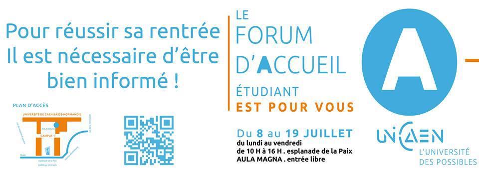 Forum d'accueil étudiant 2013