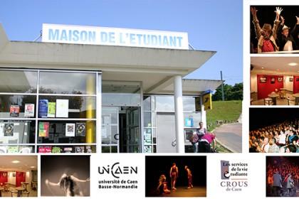La maison de l 39 tudiant caen repaire culturel pour for Maison de l etudiant caen
