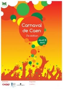 Affiche Carnaval Caen - Thomas Huard (1)