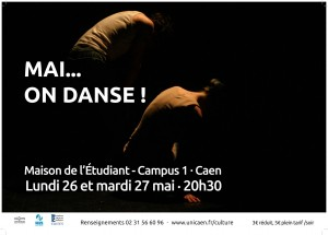 Mai on danse f d ration campus basse normandie for Maison de l etudiant caen